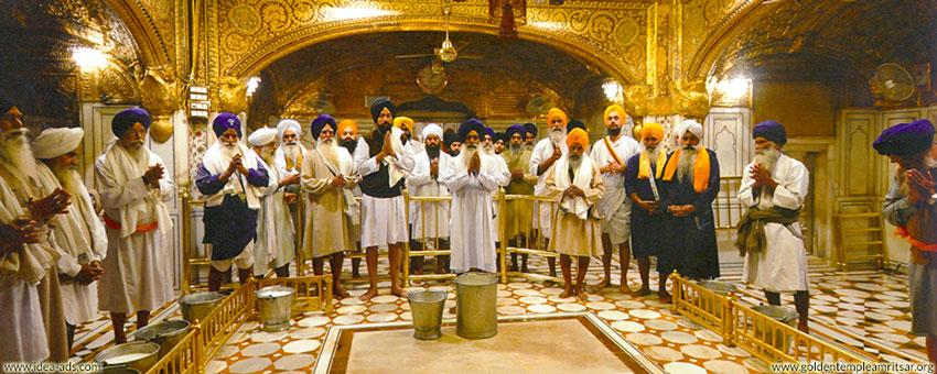 Golden temple amritsar darshan timings